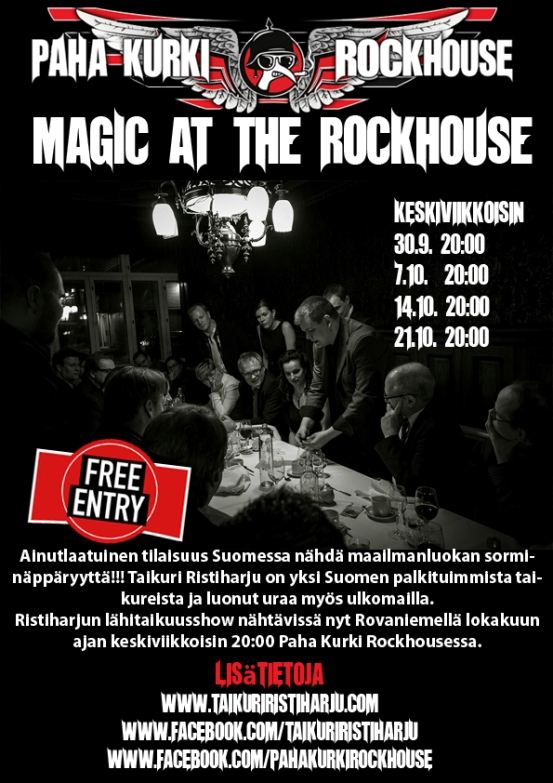 Magic at the rockhouse