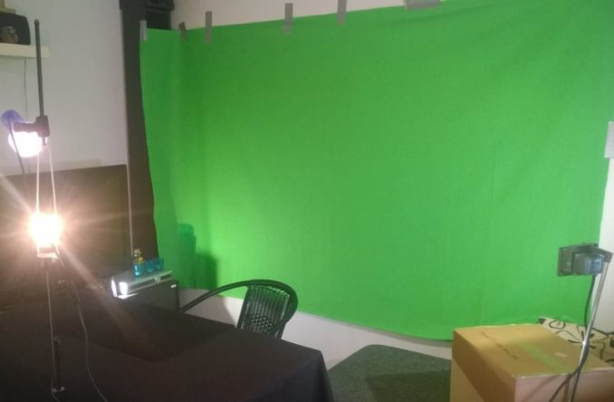 green screen kotona